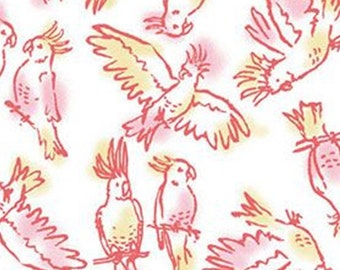 Brisk Birds, 71180304, col 02, By The Sea, Laura Ashley, Camelot Fabrics, 100% Cotton