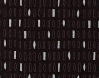 Black, metallic silver, 18689, Robert Kaufman, 100% Cotton, quilt cotton, designer cotton
