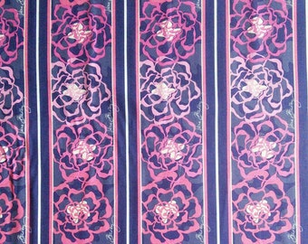 Fabric Floral, Sharon Kessler for Vera Bradley Designs, 100% cotton, cotton quilt, cotton designer