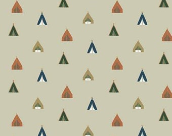 Adventure is Calling of Riley Blake Designs, KHAKI, #10724 , fabric, cotton, quilt cotton