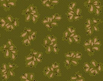 Olive green, beige, Katie's Cupboard, Kim Diehl, Henry Glass & Co, 6672
