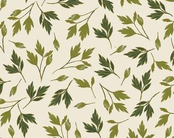 Leaves cream, Enchanted, 8827, Benartex, 100% coton