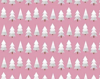 Holly Holiday, Riley Blake Designs, Christmas fabric 100% cotton, #10883 ROSE