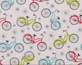 Bike, pink, My little sunshine, 10086, col 26, Benartex