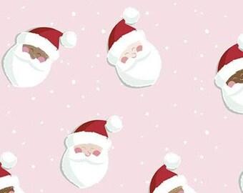 Holly Holiday, Riley Blake Designs, Christmas fabric 100% cotton, #10881 PETALPINK