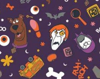 Fabric Halloween, Scooby Doo Monster Toss, #23700512 - Character Halloween of Camelot Fabrics