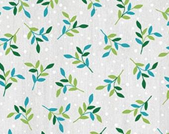 Leaf Spring, light grey, Benartex, Style 07575, cotton, cotton quilt, cotton designer