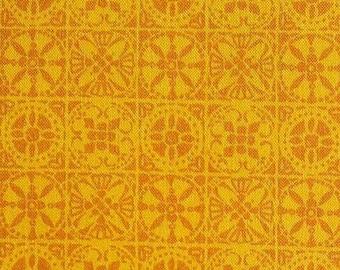 SALE, Tile, orange, 66180205, col 04, Autumn Impressions, Camelot Fabrics, cotton, cotton quilt, cotton designer, (Reg 3.76-21.91)
