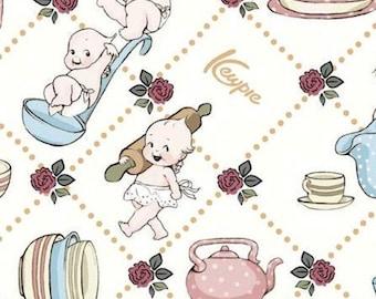 Sew Kewpie of Riley Blake Designs, CLOUD, #10541, fabric, cotton, quilt cotton