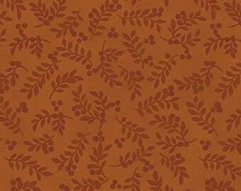 Leaf, spice, Harvest Berry, Benartex, 07563, col 88, cotton, cotton quilt, cotton designer