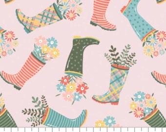 Rain boot, Wish for Rain, 89191002, col 03, Camelot Fabrics, 100% Cotton