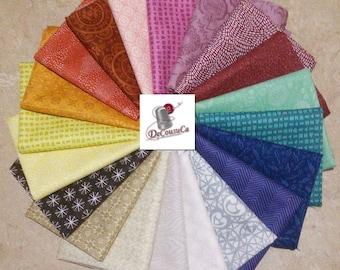 SALE, Bundle of 20 prints, Camelot Fabrics, quilt cotton, (Reg 75.20-389.80)
