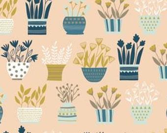 SALE, Window garden, Neufchâtel, 31180202, col 01, Camelot Fabrics, 100% Cotton, (Reg 3.76-21.91)