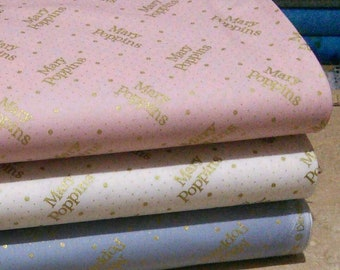 Bundle 3 prints, Mary Poppins of Camelot Fabrics