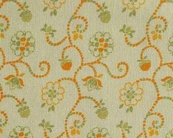 SALE, Scroll, peach, 66180202, col 03, Autumn Impressions, Camelot Fabrics, cotton, cotton quilt, cotton designer, (Reg 3.76-21.91)