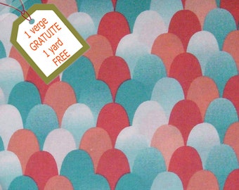 Fabric Wave, 100% cotton, cotton quilt, cotton designer. Comes WITH tracking code