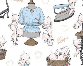 Sew Kewpie of Riley Blake Designs, CLOUD #10540, fabric, cotton, quilt cotton