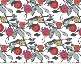 Melba in white, 38170103, 02, Lintu, Finlayson, Camelot Fabrics, 100% Cotton, quilt cotton