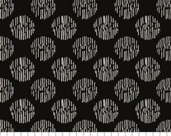Textured Spot, black, 71190403, col 02, Oxford, Laura Ashley, 100% Cotton