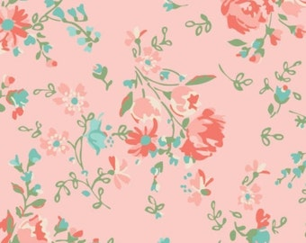 Fabric 100% cotton, Anglesey, 71170201, col 04, PINK - The Notthingham of Laura Ashley, Camelot fabrics