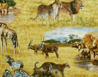 Jungle animal, 5015, Elizabeth's Studio, cotton, cotton quilt, cotton designer