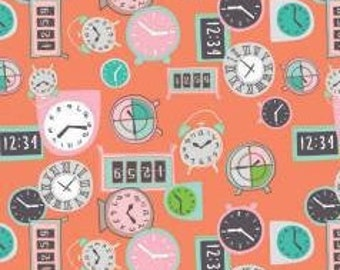 Fabric Deadlines, 60210103, 01, CORAL - Home Office of Camelot Fabrics