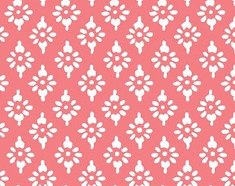 Hannah geo, pink, 71180306, col 01, By The Sea, Laura Ashley, Camelot Fabrics, 100% Cotton