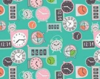 Fabric Deadlines, 60210103, 02, TURQUOISE  - Home Office of Camelot Fabrics