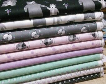 SALE, Bundle, 10 prints, Bear Hugs of Camelot Fabrics, (Reg 37.60-194.90)