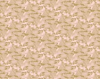 SALE, Flower, 29180206, col 03, Mistic Cranes, Camelot Fabric, quilt cotton, (Reg 3.76-21.91)