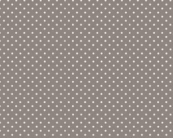 Spot, GRAY/Ivory, 830, Makower, cotton, cotton quilt, cotton designer