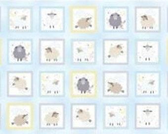 "Panel, 24""X44"", 28 prints, Bears, C7781 - Sweet Dreams by Benartex"