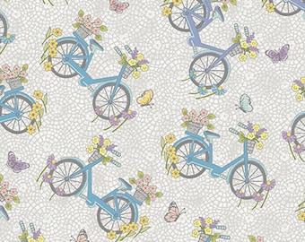 Bike, Butterfly Garden, 6361, col 08, Benartex