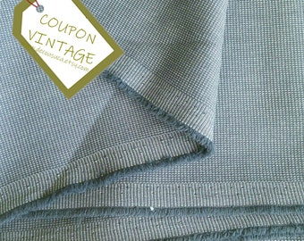 COUPON 200cm X 150cm, Fabric for clothing, Mini-Check, mouse gray, 100% polyester, opaque and light, NON stretch, for skirt, blouse