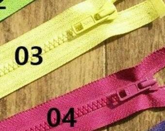 """YKK, Zipper, DETACHABLE, 14""""-32"""", (40cm - 80cm), zipper, #5V, varied color, varied size, nylon, for clothing, repair, ZZ01"""