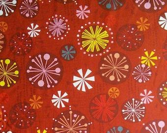 SALE, Baubles Red, Fandangle, #07690, 10, Benartex, 100% cotton, cotton quilt, cotton designer, (Reg 3.76-21.91)