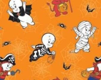 Fabric Halloween, Casper, #96390101 - Character Halloween of Camelot Fabrics