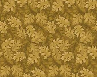 Leaf, green, Harvest Berry, Benartex, 07565, col 043, cotton, cotton quilt, cotton designer