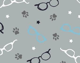 Glasses, 34180105, col 02, Cat Rules, Camelot Fabrics, cotton, cotton quilt, cotton designer