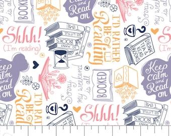 Literary, 21190524, col 03, Camelot Fabrics, 100% Cotton