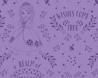 Sofia, princess Sofia, reaim of magic, 85380503, col 03, Camelot Fabrics, cotton, cotton quilt, cotton designer