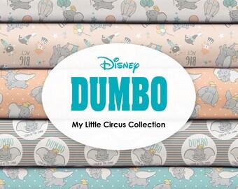 Bundle, 8 motifs, DUMBO de Disney, Camelot Fabrics, quilt cotton