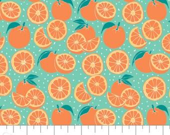 Oranges, Feeling' Fruity, 30200204, col 01, Camelot Fabrics, 100% Cotton, (Reg 3.76-21.91)