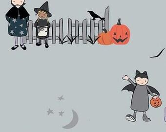 Halloween, GRAY, #10570, fabric, cotton, quilt cotton- Spooky Hallow de Riley Blake