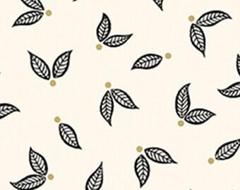Little leaves, ivory, Jubilee, Benartex, Style 5495M, cotton, cotton quilt, cotton designer