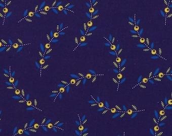 Sprigs Navy, Somerset, 6795, col 55, Benartex, cotton, cotton quilt, cotton designer