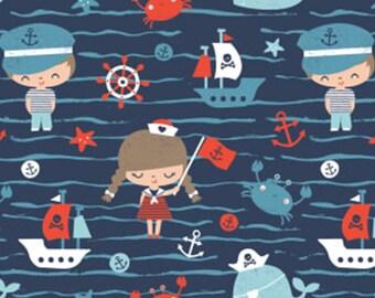 Marine life, Nautical, Camelot Fabrics, 89190607, col 02, cotton, cotton quilt, cotton designer