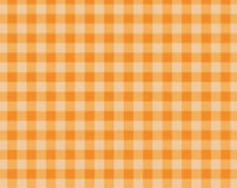Gingham, Strawberry Honey, C10245, CREAMSICLE, Riley Blake, cotton quilt, cotton designer