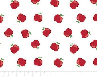Apple, Back to School, Teachers Rules, 21200206, col 01, Camelot Fabrics, Camelot Fabrics, 100% Cotton