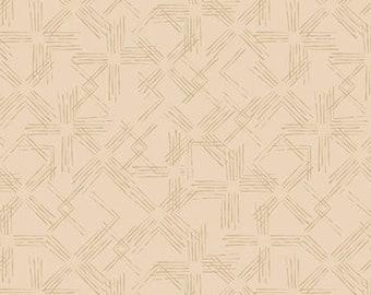 SALE, Treillis, ivory, 21180803, col 01, Flower Market, Camelot Fabrics, 100% Cotton, (Reg 3.76-21.91)